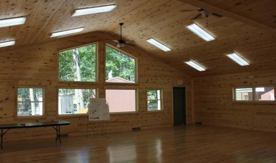 Rhinelander School Forest - Interior Classroom