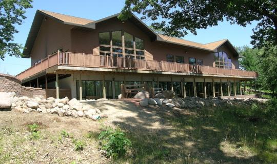 Spencer Lake Christian Center - Exterior Rear